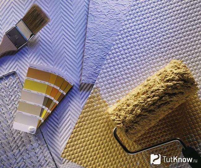 Рельєфні бамбукові шпалери під фарбування