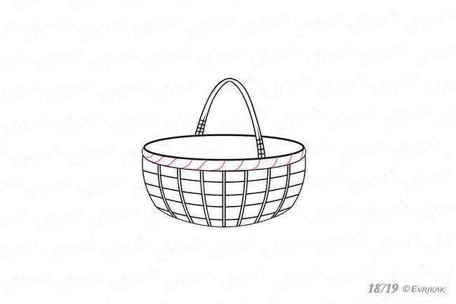 Плетіння обідка кошика