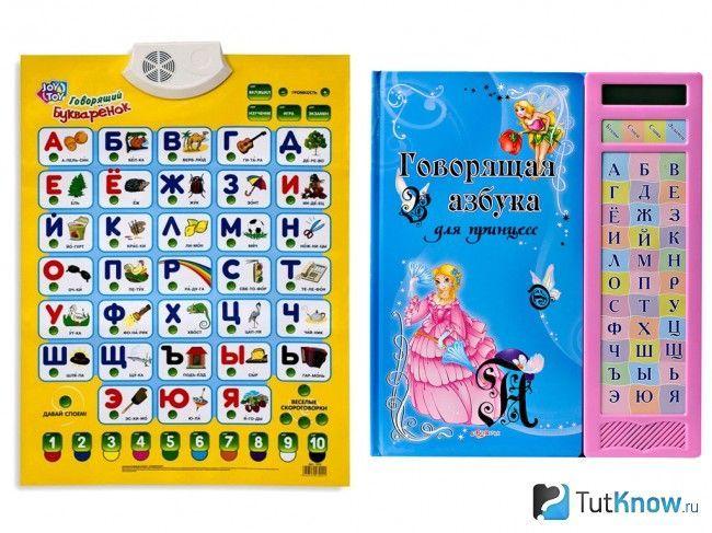 Абетка для навчання малюка буквами і словами