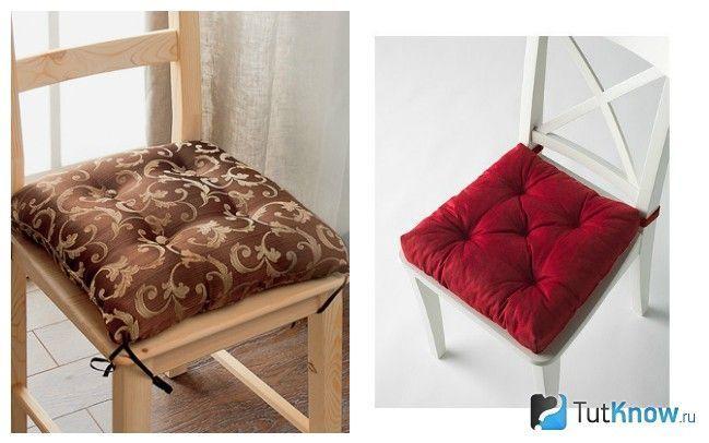 Стільці з подушкою