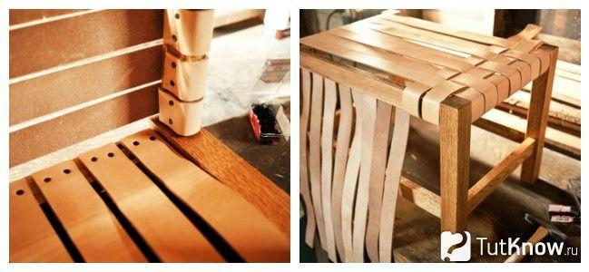 Плетіння для декорації стільця
