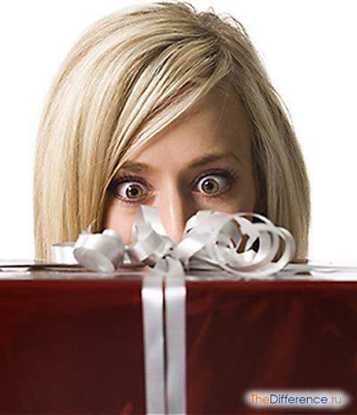 як подарувати подарунок