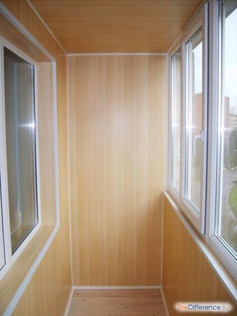 обробити балкон