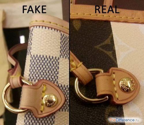 відміну справжньою сумки від підробленої