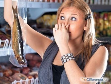 відміну свіжої риби від несвіжої