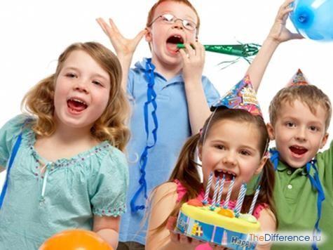 як відзначити день народження дитини
