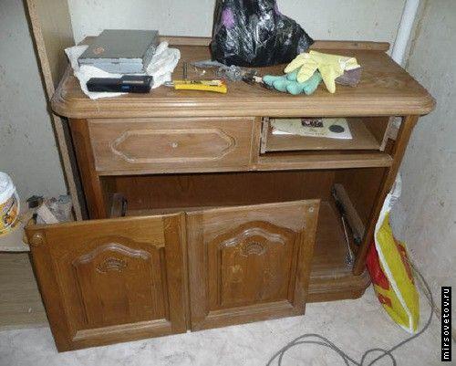 Як перефарбувати старі меблі