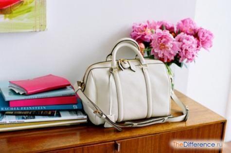 як почистити білу шкіряну сумку