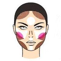 Як наносити хайлайтер на кругле обличчя