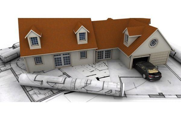 План гаража біля будинку