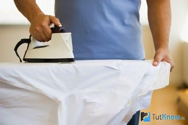 Як гладити сорочку