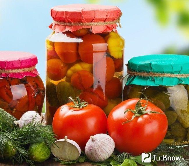 Мариновані овочі для спалювання жиру