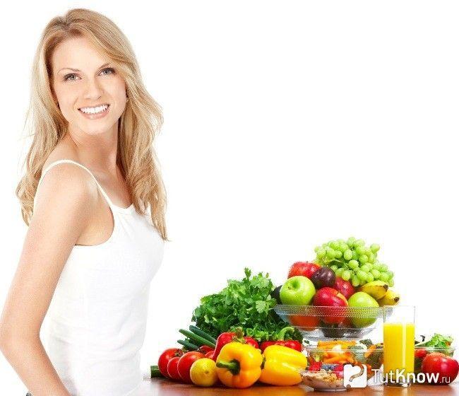 Овочі та фрукти перед тренуванням для дівчат