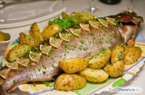 приготувати рибу в духовці цілком
