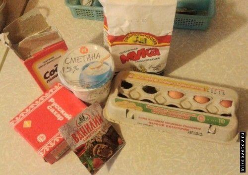 Як приготувати сметанний бісквіт
