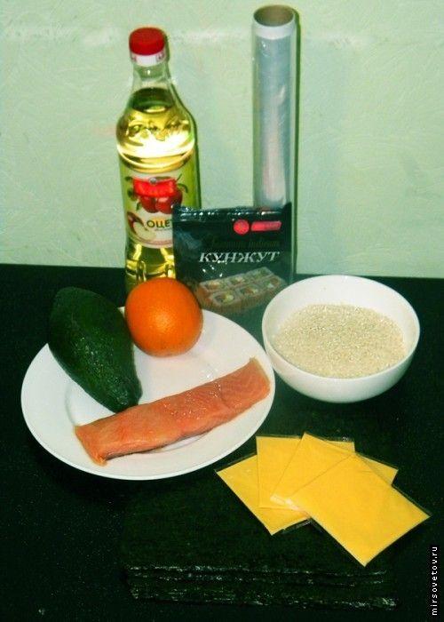Як приготувати суші