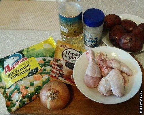 Як приготувати заморожені овочі