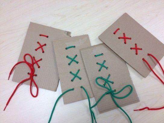 вчимо зав`язувати шнурки за допомогою ігор