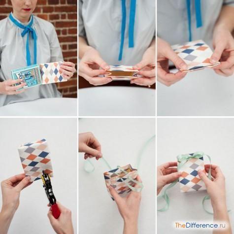 як зробити паперовий пакет в домашніх умовах