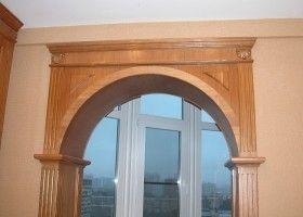 Дверний отвір у вигляді арки