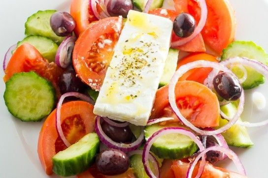 Як зробити грецький салат