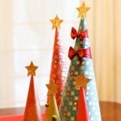 Як зробити новорічну ялинку своїми руками