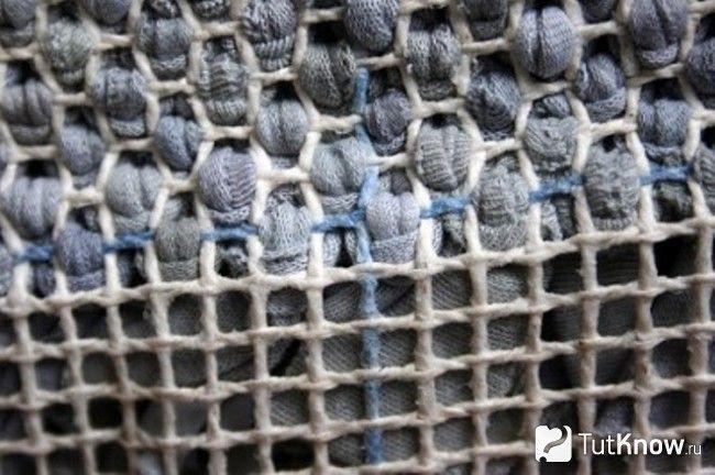 Плетемо візерунок килимка