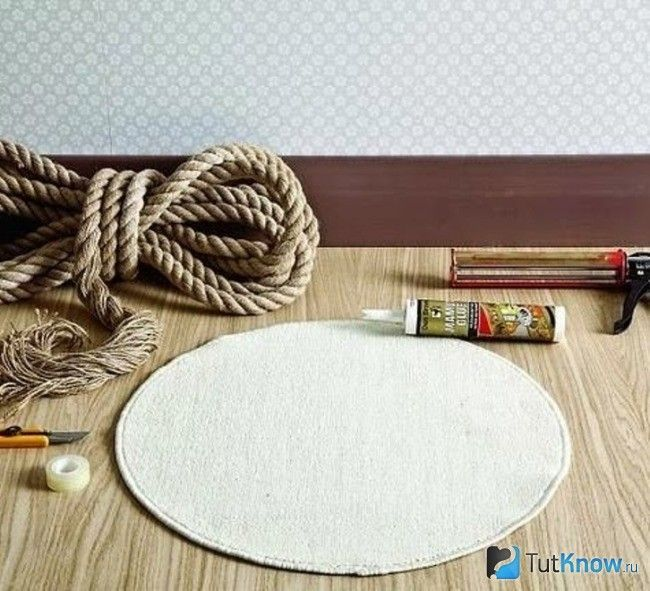 Матеріали для саморобного килимка