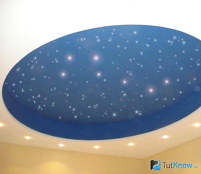 Гіпсокартонна стеля «зоряне небо»