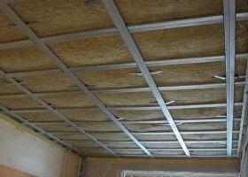 Як зробити шумоізоляцію стелі