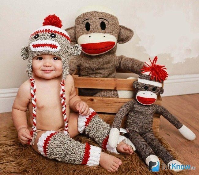 Костюм мавпи для дитини на Новий рік 2016
