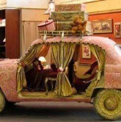 Як старі авто перетворюються в гарні меблі