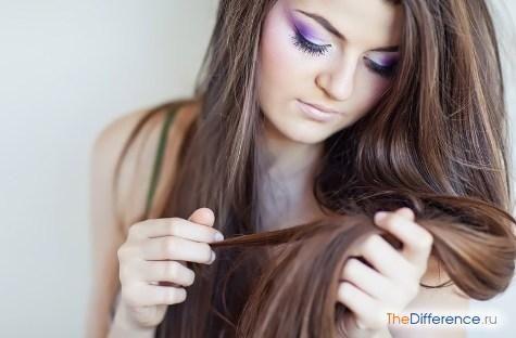 як прибрати смолу з волосся
