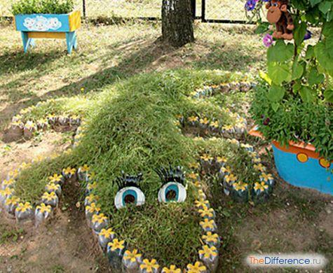 як прикрасити сад і город своїми руками