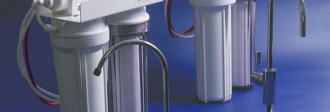 Як встановити фільтр для води