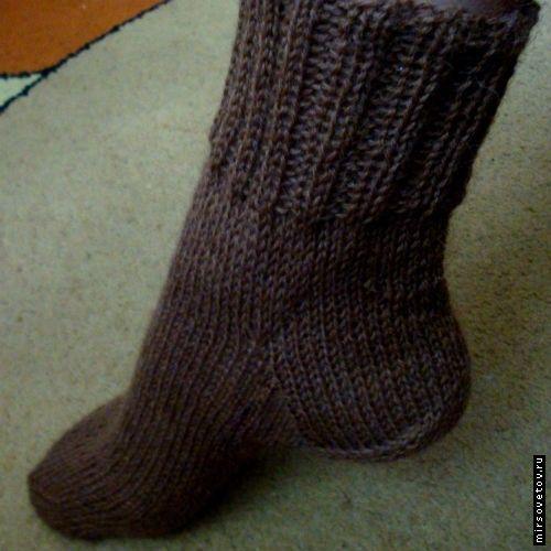 Як в`язати шкарпетки спицями