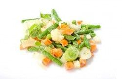 Як заморожувати овочі на зиму