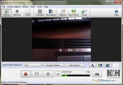 записати відео з веб-камери