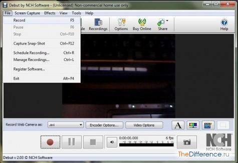 записати відео з веб-камери онлайн