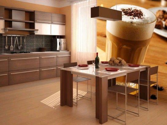 Колірна гамма для шпалер на кухню