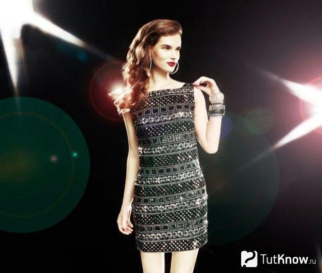 Коротке плаття на Новий рік