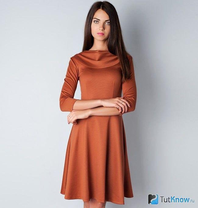 Руде плаття на свято
