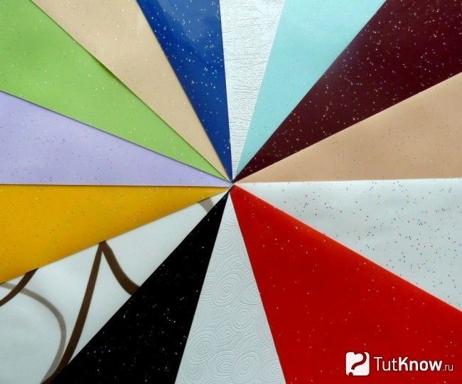 Колірна гамма натяжних полотен