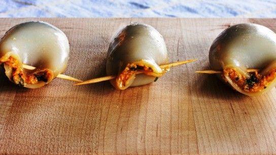 Кальмари фаршировані дієтичні рецепти