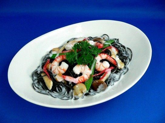 Кальмари рецепти в сметанному соусі