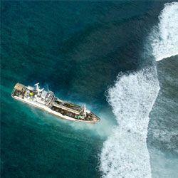 Кораблі скоро допоможуть передбачати наближення цунамі