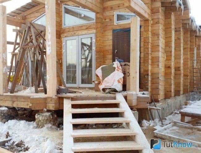 Будівництво ганку з дерева
