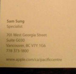 Курйоз: в компанії apple працює співробітник на ім`я sam sung