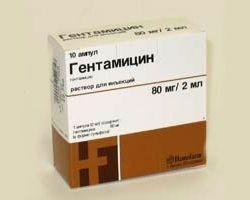 `гентаміцин`