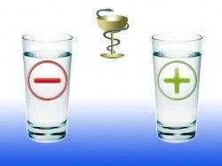 Лікування живою і мертвою водою